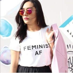 Tops - Feminist AF Graphic Tee